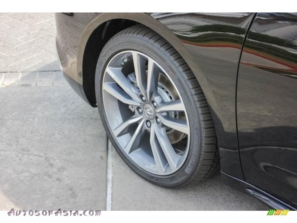2019 TLX V6 Sedan - Crystal Black Pearl / Parchment photo #14
