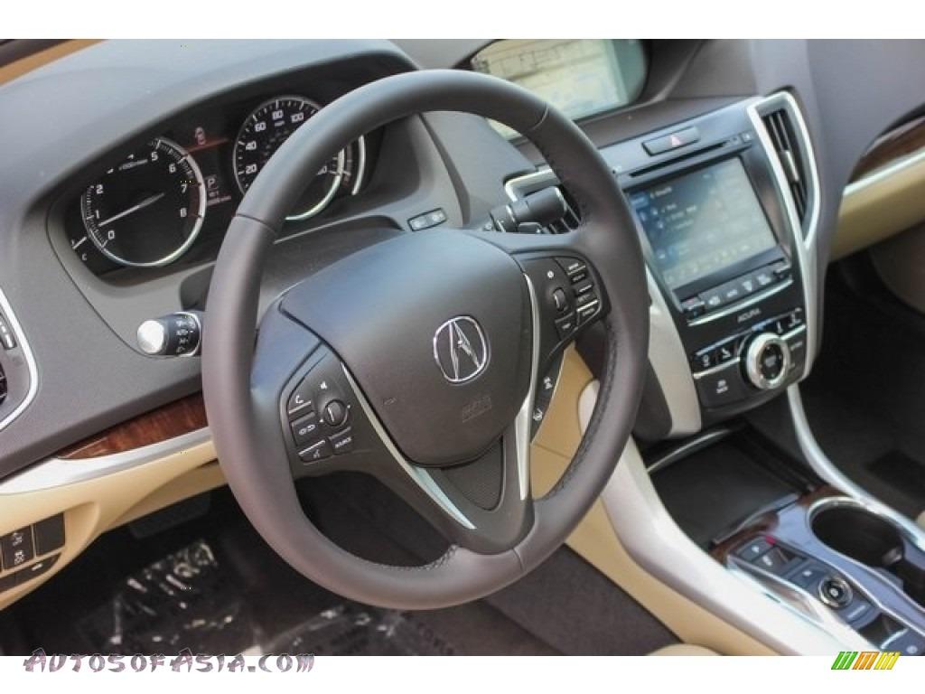2019 TLX V6 Sedan - Crystal Black Pearl / Parchment photo #42
