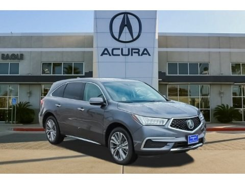 Modern Steel Metallic 2018 Acura MDX Technology