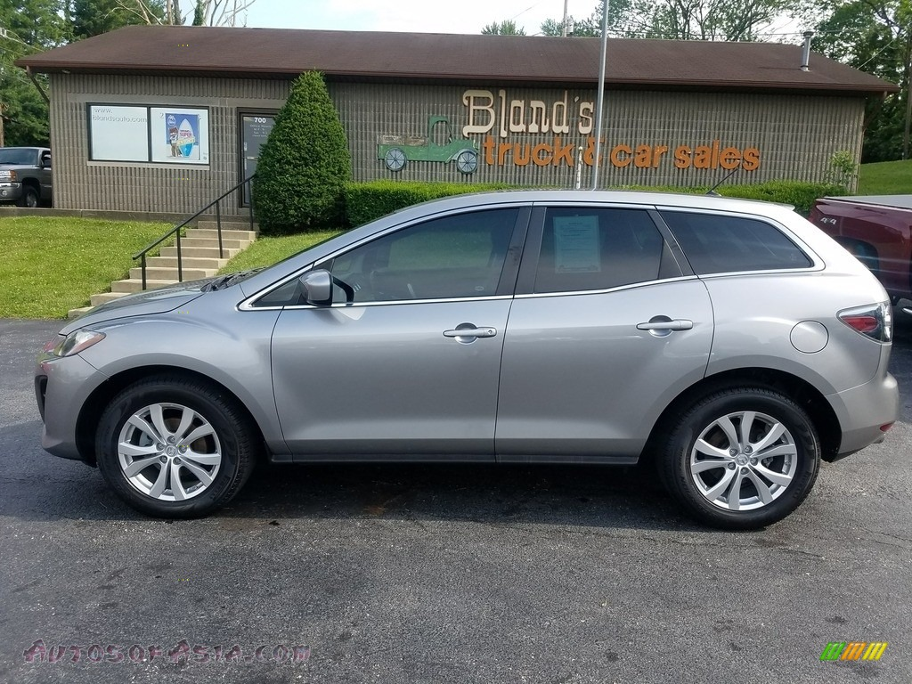 Liquid Silver Metallic / Black Mazda CX-7 s Touring