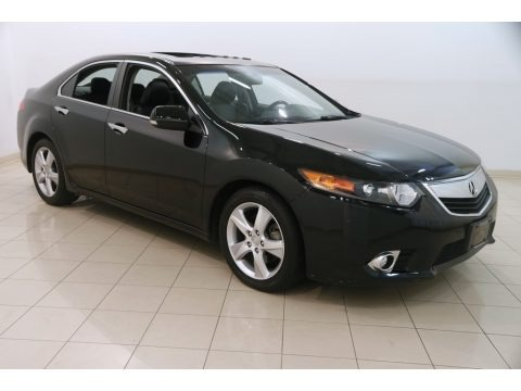 Crystal Black Pearl 2012 Acura TSX Technology Sedan
