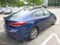 Hyundai Elantra SEL Electric Blue photo #2