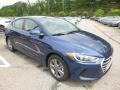Hyundai Elantra SEL Electric Blue photo #3