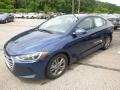 Hyundai Elantra SEL Electric Blue photo #5