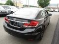 Honda Civic EX Sedan Crystal Black Pearl photo #5