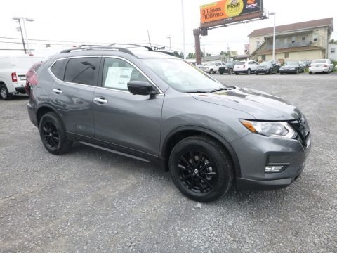 Gun Metallic 2018 Nissan Rogue SV AWD