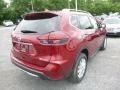 Nissan Rogue SV AWD Scarlet Ember photo #4