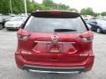 Nissan Rogue SV AWD Scarlet Ember photo #5