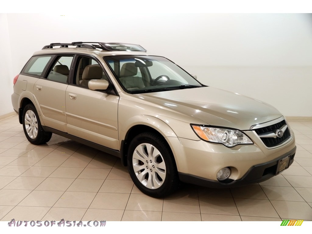 2008 Outback 2.5i Limited L.L.Bean Edition - Harvest Gold Metallic / Warm Ivory photo #1