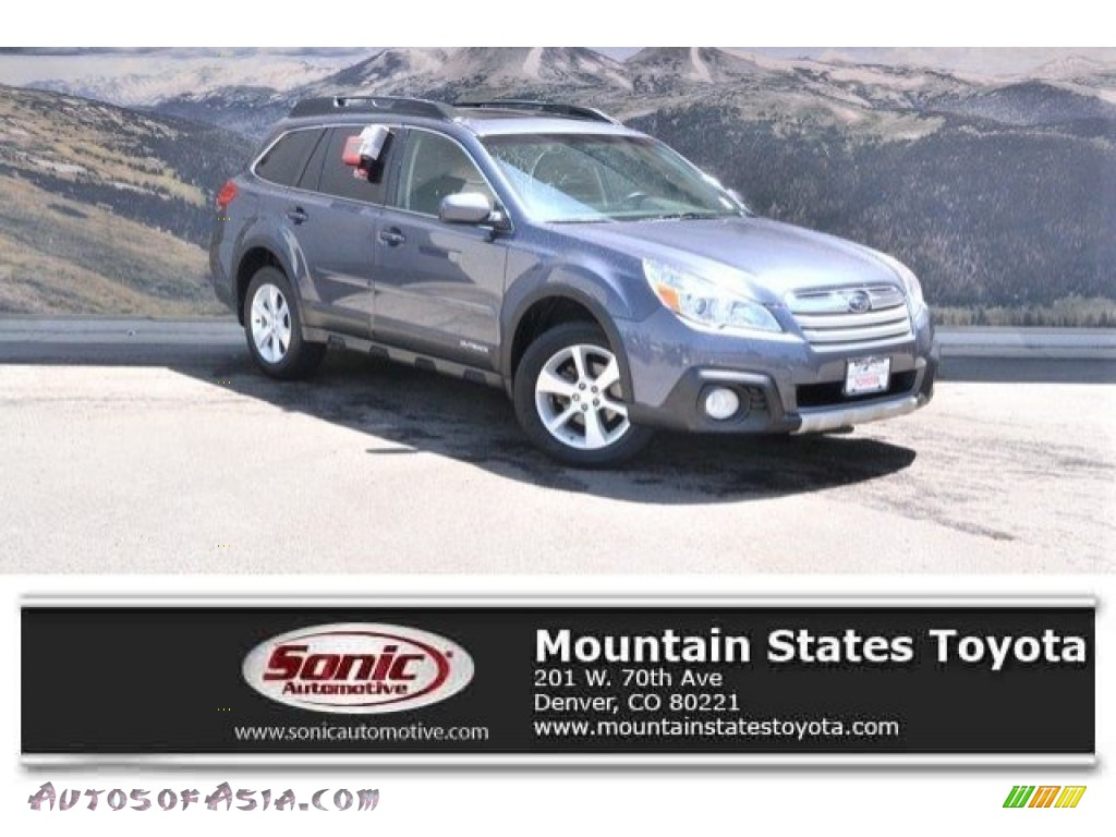 2014 Outback 2.5i Limited - Carbide Gray Metallic / Black photo #1