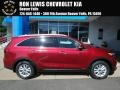 Kia Sorento LX AWD Passion Red photo #1