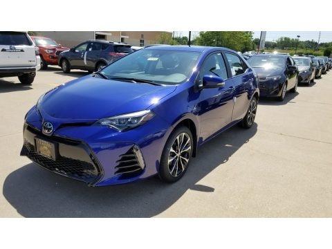 Blue Crush Metallic 2019 Toyota Avalon SE