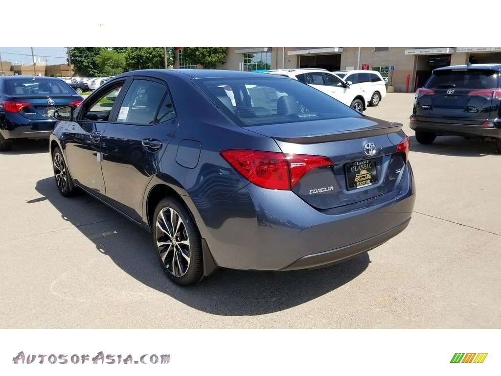 2019 Corolla SE - Slate Metallic / Black photo #2