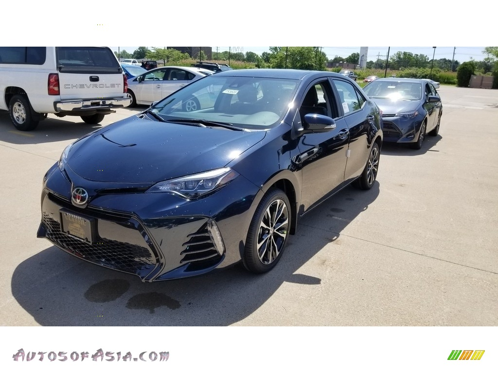 2019 Corolla SE - Galactic Aqua Mica / Black photo #1