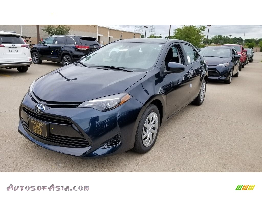 2019 Corolla LE - Galactic Aqua Mica / Black photo #1