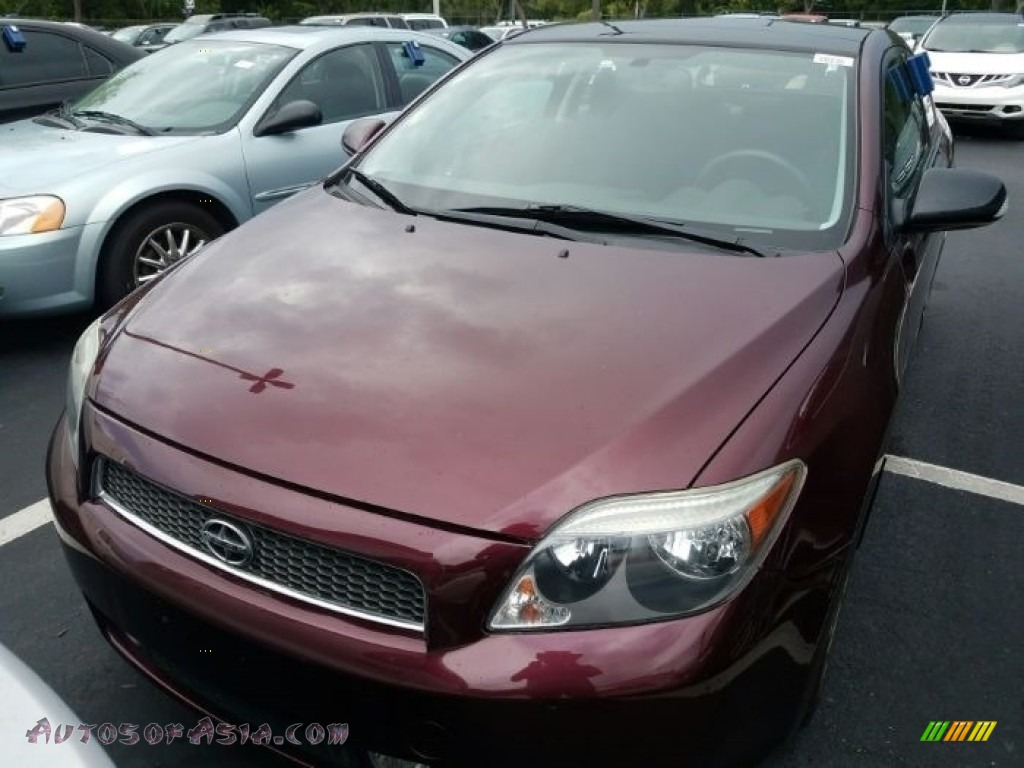 Black Cherry Pearl / Dark Charcoal Scion tC