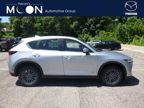 Sonic Silver Metallic 2018 Mazda CX-5 Sport AWD