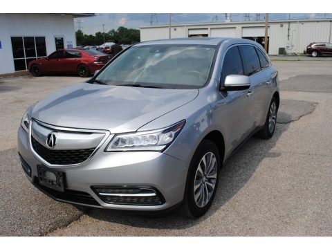 Lunar Silver Metallic 2016 Acura MDX Technology
