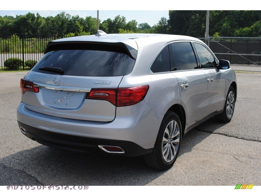 2016 MDX Technology - Lunar Silver Metallic / Graystone photo #5