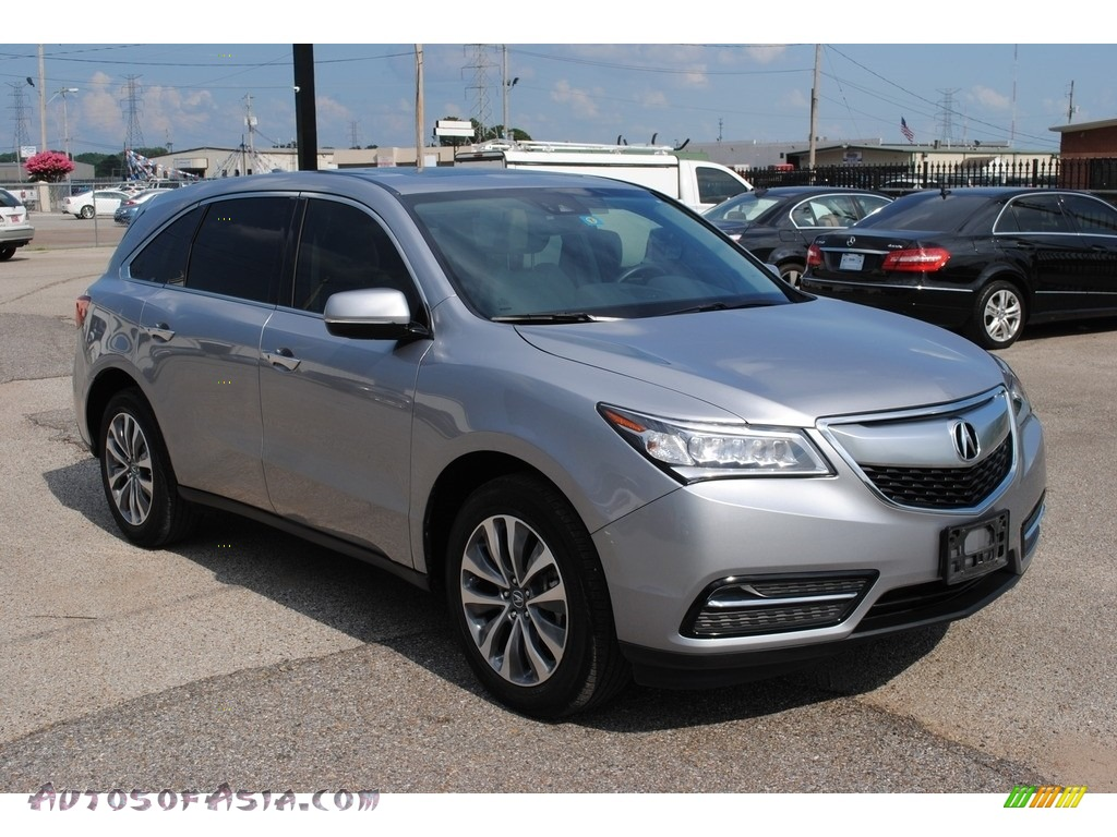 2016 MDX Technology - Lunar Silver Metallic / Graystone photo #7
