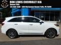 Kia Sorento SX Limited AWD Snow White Pearl photo #1