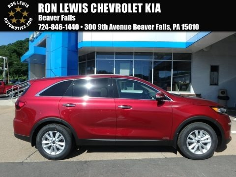 Passion Red 2019 Kia Sorento LX AWD