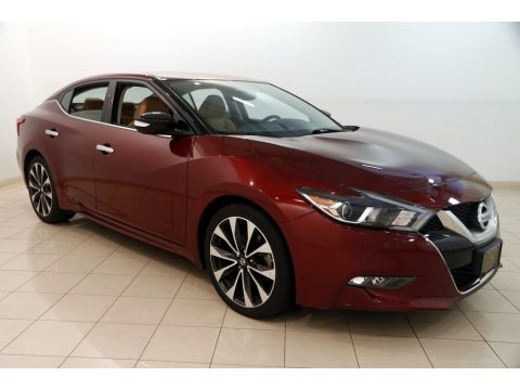 Coulis Red 2016 Nissan Maxima SR