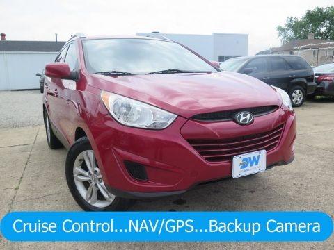 Garnet Red 2011 Hyundai Tucson GLS