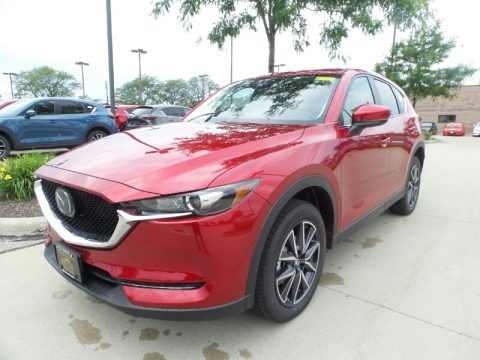 Soul Red Crystal Metallic 2018 Mazda CX-5 Touring AWD