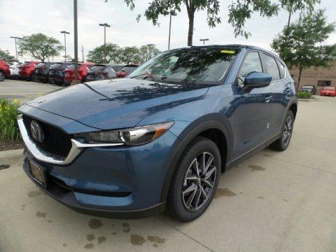 Eternal Blue Metallic 2018 Mazda CX-5 Touring AWD