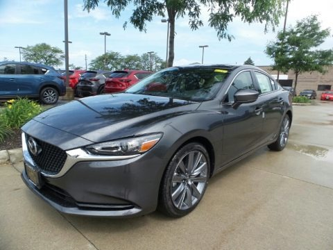 Machine Gray Metallic 2018 Mazda Mazda6 Grand Touring