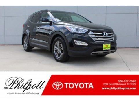 Twilight Black 2014 Hyundai Santa Fe Sport FWD