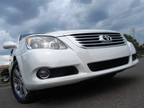 2012 Toyota Avalon Limited In Blizzard White Pearl