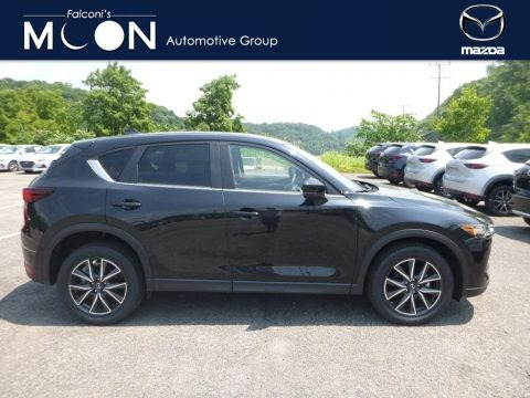 Jet Black Mica 2018 Mazda CX-5 Touring AWD