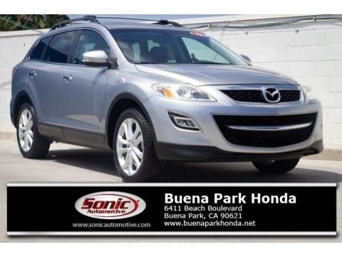 Liquid Silver Meatllic 2012 Mazda CX-9 Grand Touring AWD