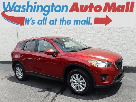 Zeal Red Mica 2013 Mazda CX-5 Touring AWD