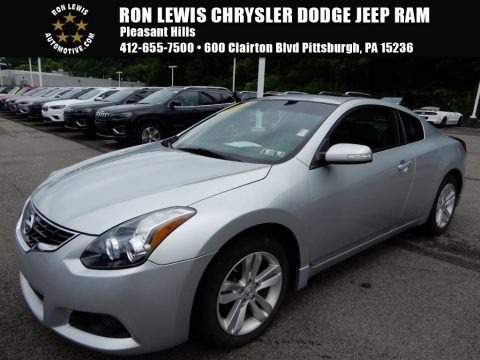 Radiant Silver 2010 Nissan Altima 2.5 S Coupe