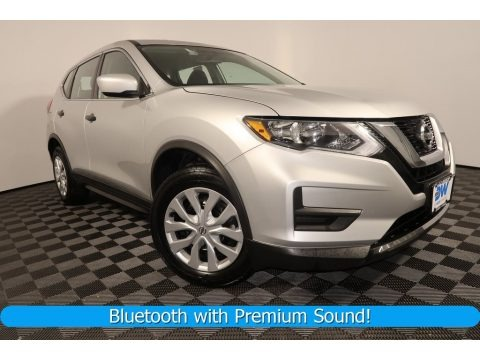 Brilliant Silver 2017 Nissan Rogue S AWD