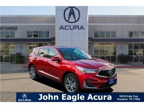 Performance Red Pearl 2019 Acura RDX Technology