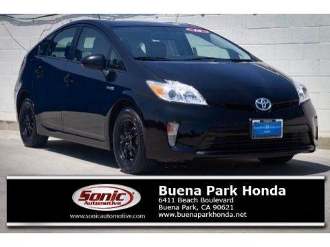 Black 2014 Toyota Prius Four Hybrid