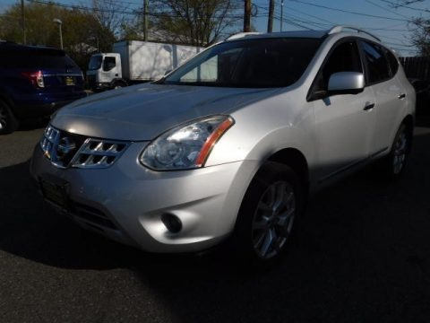 Brilliant Silver 2012 Nissan Rogue S AWD