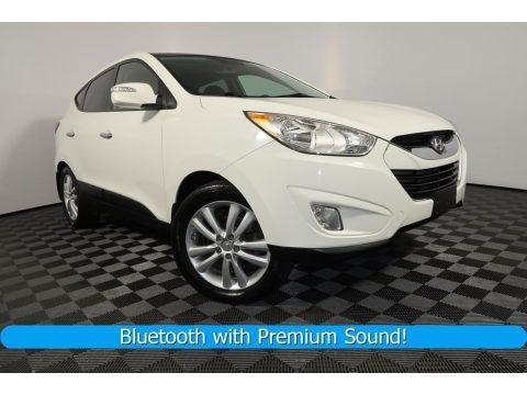 Cotton White 2011 Hyundai Tucson Limited AWD