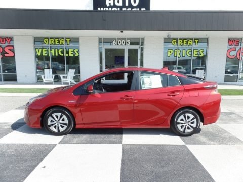 Hypersonic Red 2016 Toyota Prius Three