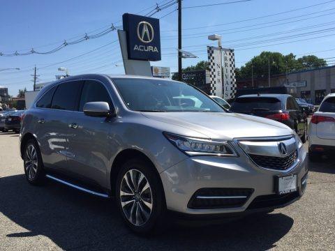 Lunar Silver Metallic 2016 Acura MDX SH-AWD Technology