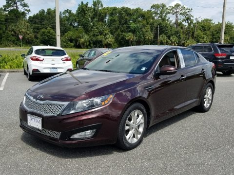 Dark Cherry 2012 Kia Optima EX