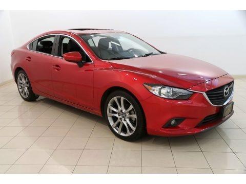 Soul Red Metallic 2015 Mazda Mazda6 Grand Touring