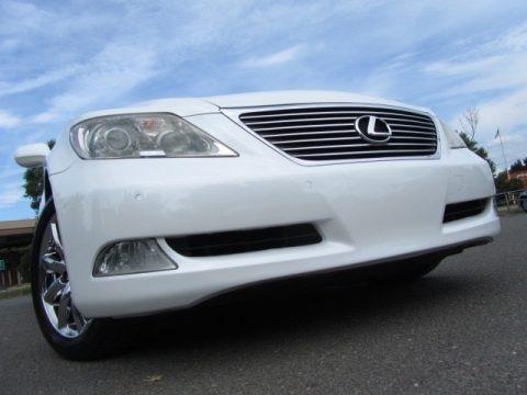 Opaline Silver Pearl 2008 Lexus LS 460
