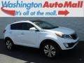 Kia Sportage EX AWD Clear White photo #1