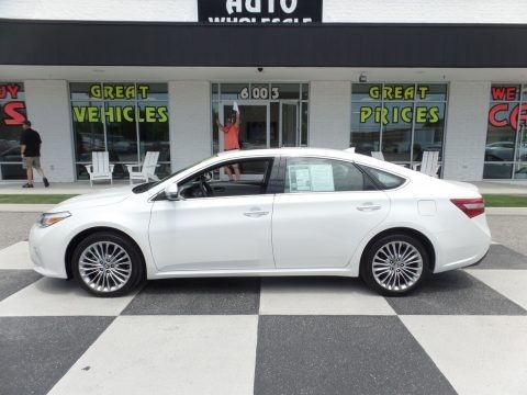 Blizzard White Pearl 2018 Toyota Avalon Limited
