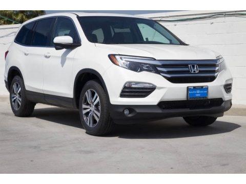White Diamond Pearl 2018 Honda Pilot EX-L
